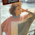 Samband of Iceland Sweater Knitting Patterns Book No. 3