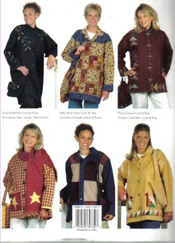 Quilting Coats & Totes 8 Designs by White Birches