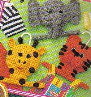 Annie's Quick & Easy Crochet to Go June/July 1998 Happy Hangers, Barbie Sundress & More