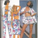 Butterick Shirt, Skirt, Pants, Shorts Bra Pattern uncut no 3306 Size 6, 8, 10