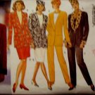 Butterick 3633  Misses' Size 14, 16, 18 Skirt Jacket Pants Hat Pattern Uncut
