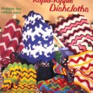A Dozen Rapid-Ripple Dishcloths designs for Cotton Yarn