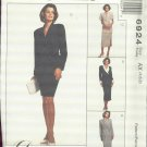 McCall's Dress Alternatives Dress, Jacket, Skirt in 2 Lengths Pattern  6924 uncut size 4,6,8
