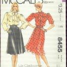 McCall's Liz Claiborne Misses' Blouse and Skirt Size 12 - cut no 8455