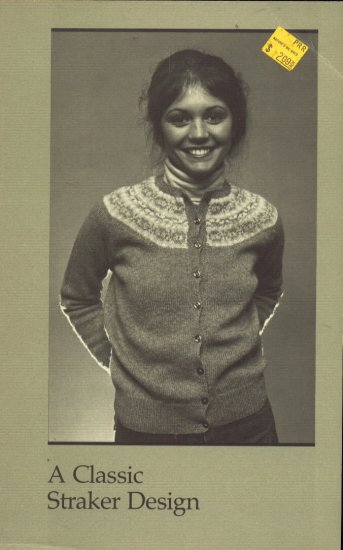Classic Penny Straker/ Isle  Design Sweater Knitting Pattern