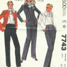 McCall's Jones New York Misse's Jacket, Blouse and Pants  Pattern  Size 12  Uncut No.  7743