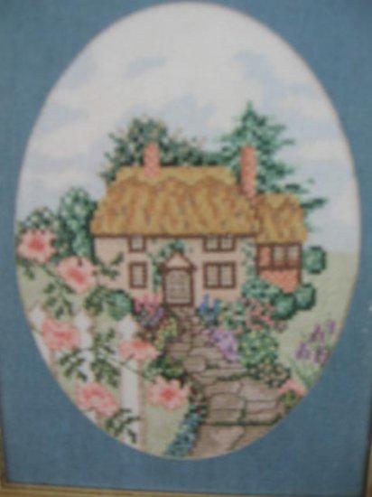 Serendipity Rose Cottage Cross Stitch Pattern