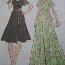 Simplicity Vintage Angel Sleeve Dress Pattern Uncut size 18 - 20 no.7382
