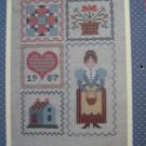 Laura Conley 1987 Cross Stitch Calendar