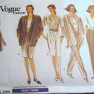 Vogue 2464 Jacket Dress Top Skirt Shorts & Pants sz  14 16 18 uncut