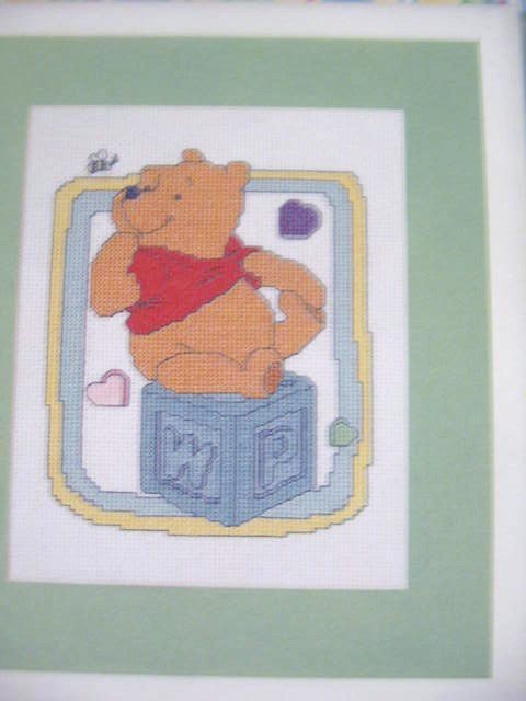 Pooh Baby Collection  Counted Cross Stitch Pattern
