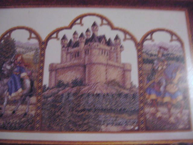 Teresa Wentzler Fantasy Triptych  Counted Cross Stitch Pattern