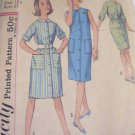 Simplicity 60's Sub teen button down dress sewing Pattern  Sz  12 No 4868