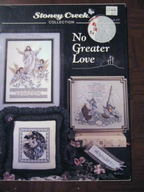 Stoney Creek No Greater Love Religious Cross Stitch Patterns