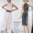 McCall's  Misses'  Cut Away Armhole Dress  Sewing Pattern no.2480 Size 8, 10, 12  Uncut