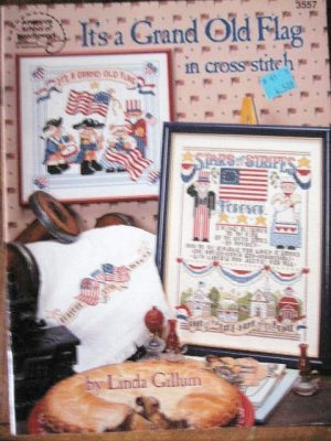 It's a Grand Old Flag in Cross Stitch Patterns