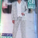 Butterick 6962 See & Sew Now Jacket, Top & Pants Size 18 , 20, 22 Pattern uncut
