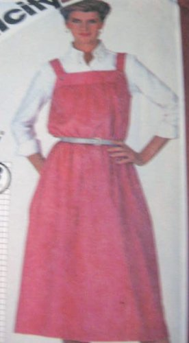 Simplicity  Super Jiffy Sundress Jumper Sewing Pattern  Size 14,16  Uncut No. 5614