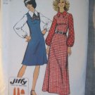 Simplicity Jiffy Dress in 2 Lengths Sewing Pattern  Sz  16 No 5239 uncut