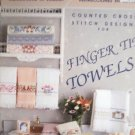 Finger Tip Towels  Cross Stitch Designs 16 Designs