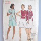 Butterick 3080 Dress and Jacket Sewing Pattern Uncut Sz 16 Bust 38