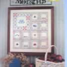 Folk Art Months Cross Stitch Patterns Designs