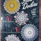 Flower Doilies and New Pansy Doily Vintage Crochet Patterns