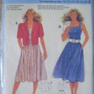 Burda  Misses' Size 10, 12, 14, 16, 18, 20, 40 Sundress & Jacket Pattern 6526