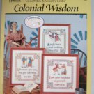 Colonial Wisdom Cross Stitch Designs  Patterns