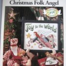 Christmas Folk Angel Cross Stitch Designs  Patterns