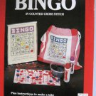 Bingo Cross Stitch Designs  Patterns plus Instructions for take along Bingo Bag
