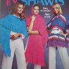 In Shawls Three to Crochet Three to Knit