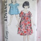 Advance Vintage Girls' Muu Muu and Panties  Sewing Pattern Size 12 no 2705