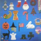 Holiday Magnets for Plastic Canvas 23 Designs