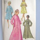 Simplicity 9074 Vintage Misses' Robe in two lengths Sewing Pattern  Size 14
