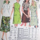 Vintage Quaker Oats  Dress Blouse and Skirt Pattern Size Large no M 44