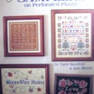 Cross Stitch Samplers on Perforated Plastic - Plastic Canvas