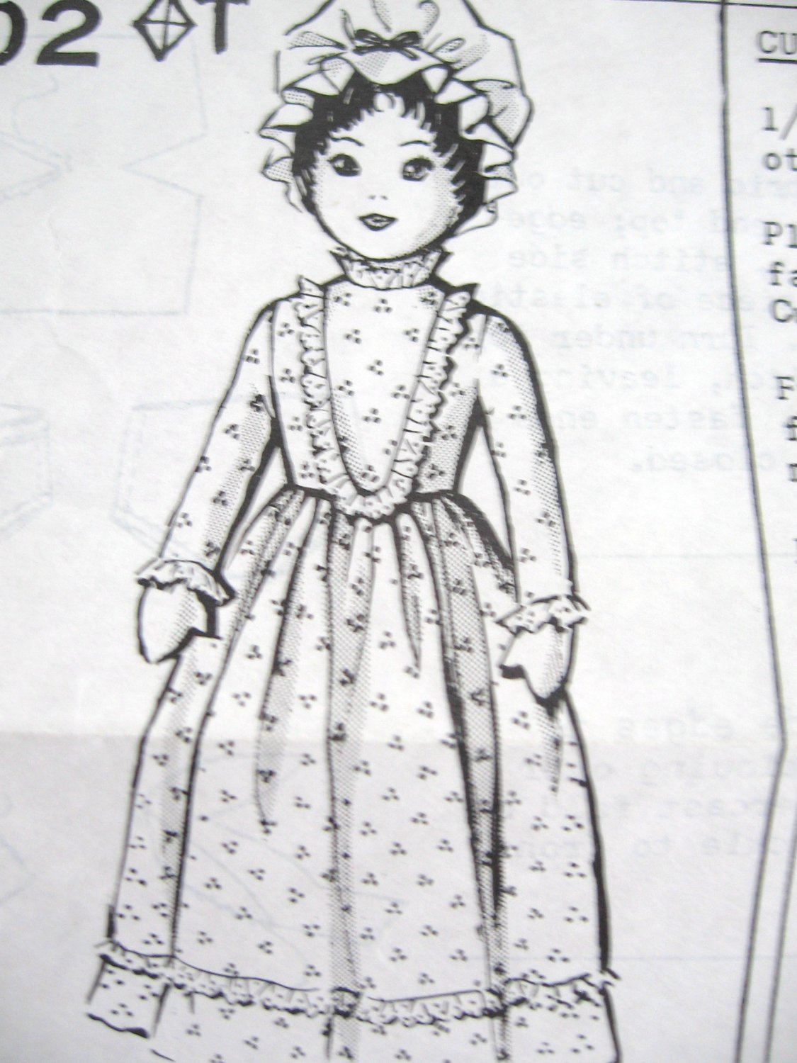 Mail Order Doll Pattern No. 2602