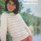 DMC Cotonia Cotton Knits no 15228 sweaters to knit