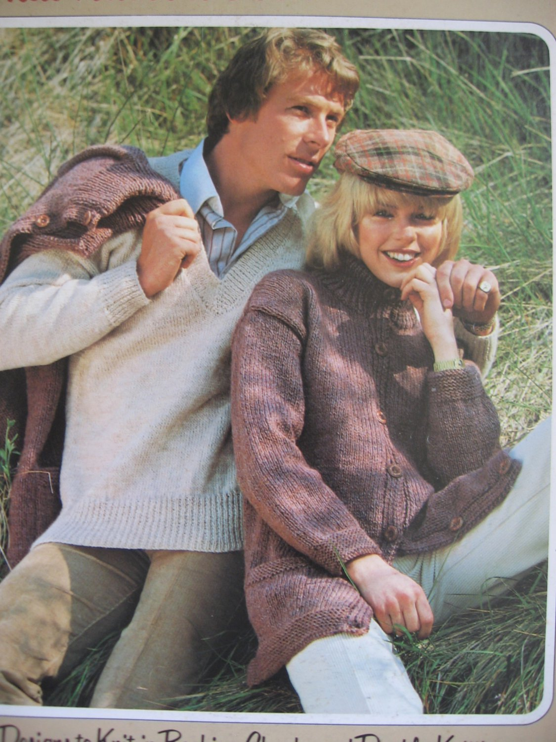 That Natural Look Knitting Patterns Beehive Chunky & Double Knitting