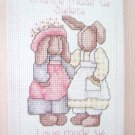 Alma Lynne Sisters  Gift of Love Cross Stitch Pattern