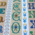 Charted Alphabets and Borders Vol II Cross Stitch Designs