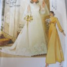 Vogue Bridal Dress, Slip and Veil Sewing Pattern sz 14  no 1488
