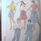 Simplicity  Misses'  Pants & Culottes in 2 lengths Sewing Pattern no.7333 Size 10 Uncut