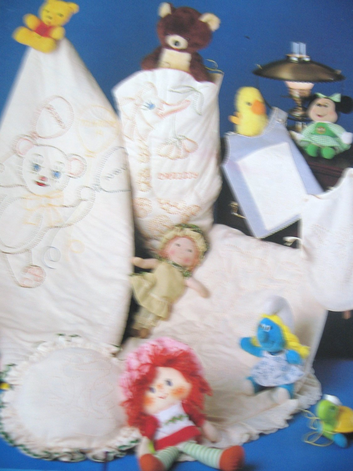 Candlewick Critters Baby Teddybear Quilt & Goose Hamper Candlewick Patterns