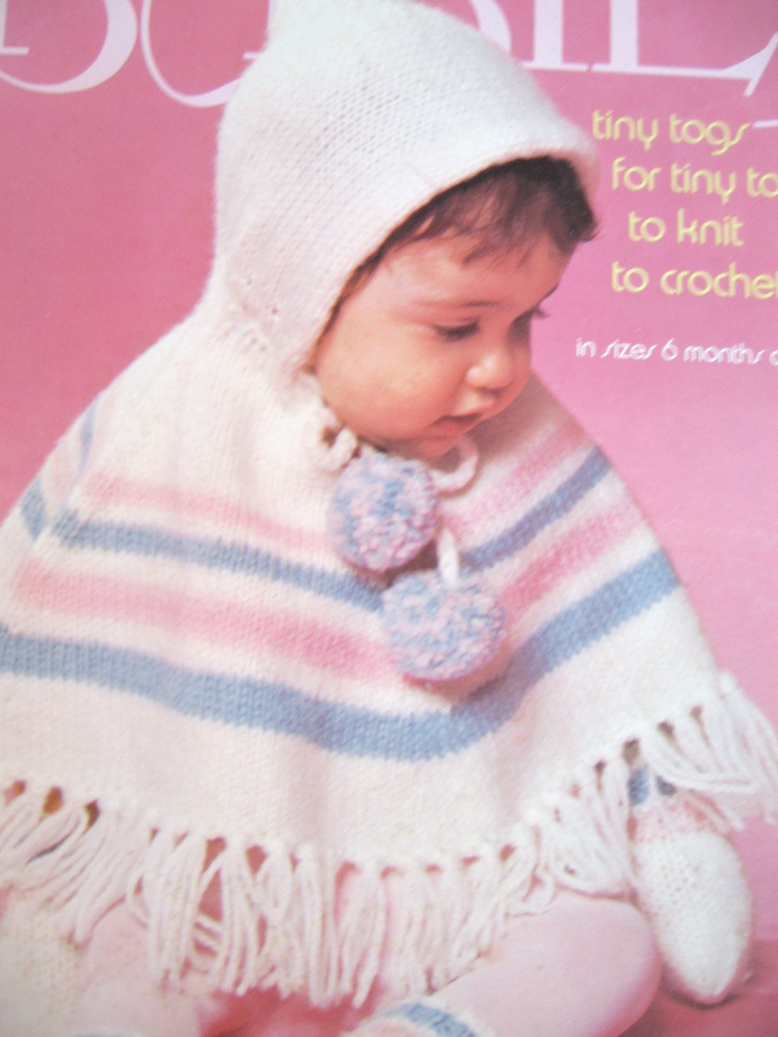 Babies Tiny Togs for TIny Tots to Crochet and Knit Columbia Minerva 2523