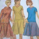 Simplicity  6674 Low Waist Dress Sewing Pattern  size 14 uncut