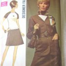 Simplicity  8449 Designer Fashion Dress and Jacket Sewing Pattern  size 14 uncut
