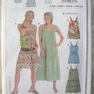 Burda 8076 Summer Dress Sewing Pattern sizes 6 - 18 Uncut