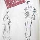Vintage Woman's Day 3233 Jacket Skirt Uncut Pattern sz 16